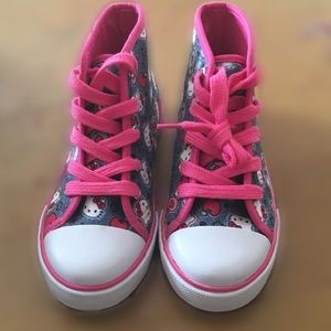 Hello kitty  high tops brand new